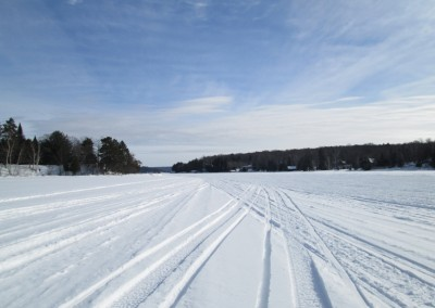 Lake of Bays in Winter