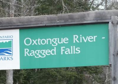 Ragged Falls Provincial Park