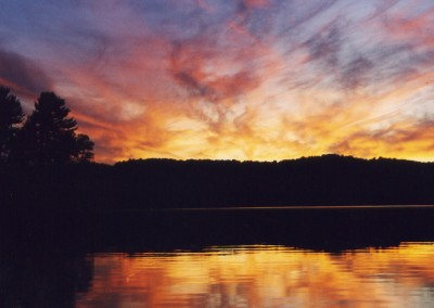 Oxtongue Lake Sunset