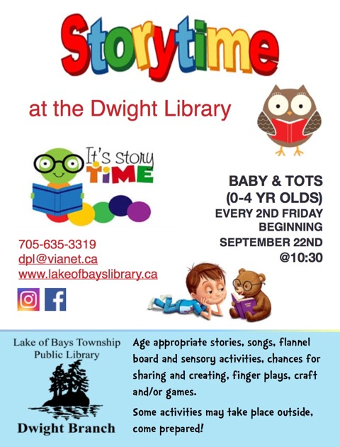 Story Time @ Dwight Public Library