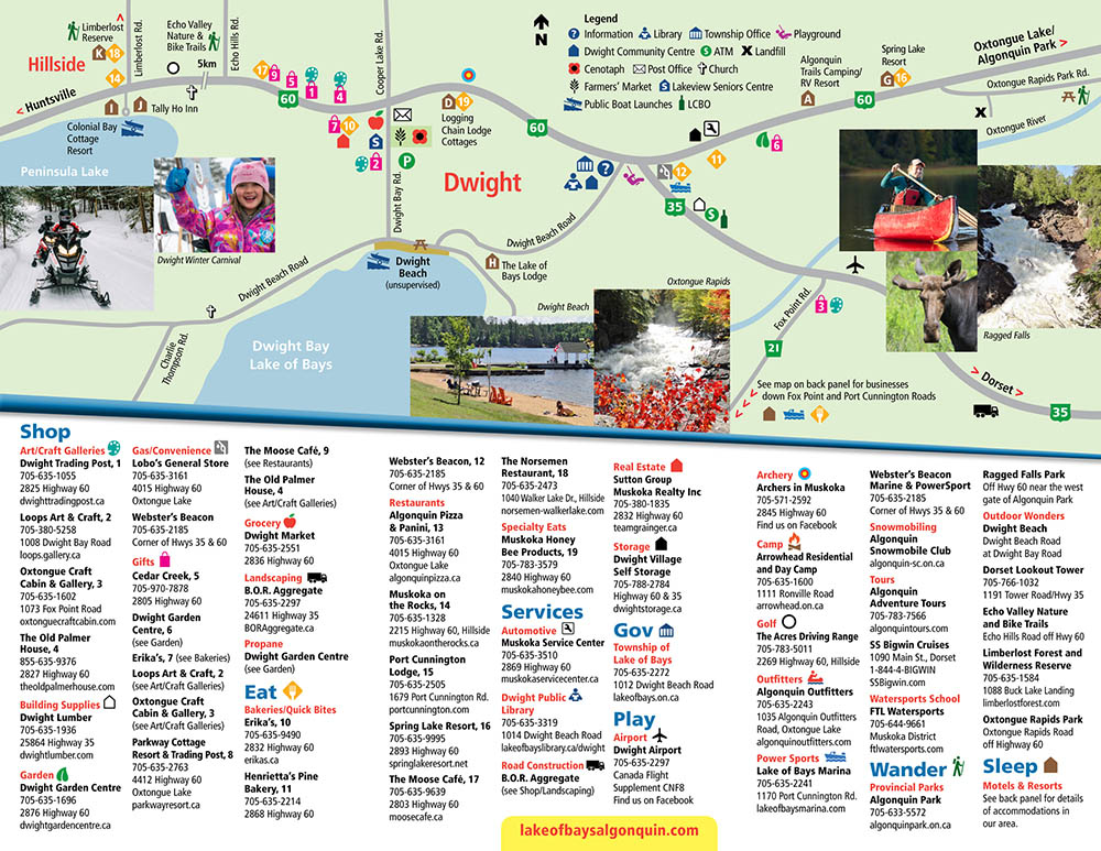 2016 HOLD Brochure Map