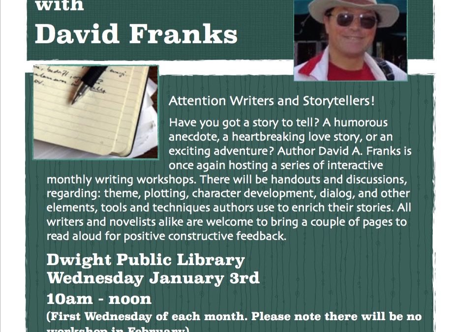 Writer's Circle with David Franks